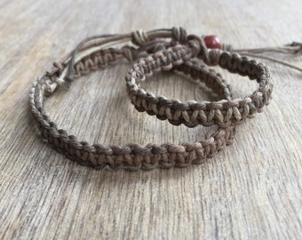 Daddy and me bracelets, Earth Dad and Son bracelets, Kids bracelets, Father and son bracelets HF001246