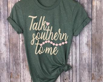Talk Southern To Me Svg - Southern Saying Cut File - Southern Cutting File - Southern Svg - Funny Southern Saying File - Cricut Svg - Dxf