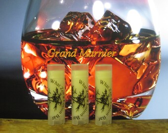 Grand Marnier & Apricot Lip Balm - 31 Luscious Flavors - 100% Natural