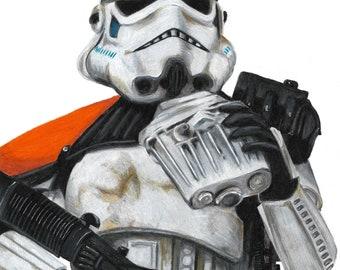 Sandtrooper Print