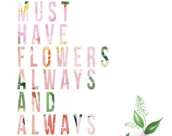 Must Have Flowers