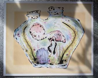 In a Jar Print