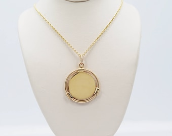 Tiffany & Company Medallion Estate Necklace Yellow Gold - J36541