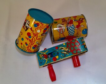FUN US MetalToy Mfg.Co.Noise Makers-1950's-New Years Eve Made in USA