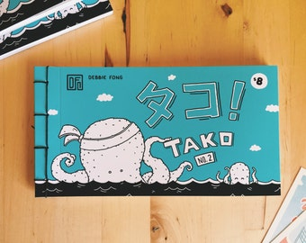 TAKO No. 2 - A 24-Page Book of Comic Strips (Limited Edition of 70)