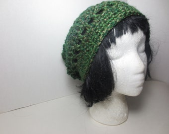 Sale Slouch hat - Slouchy Beanie - Green Slouchy hat - Green hat