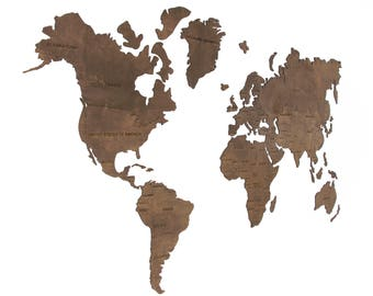 office world map. World Map Wall, Hanging, Wooden, Wood, Office