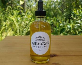 Wildflower Herbal Oil | soothing + healing