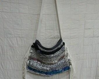 Rag Rug Shaby Chic Handbag