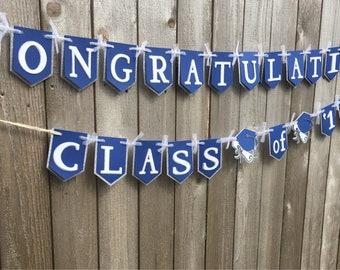 Customizable Graduation Banner
