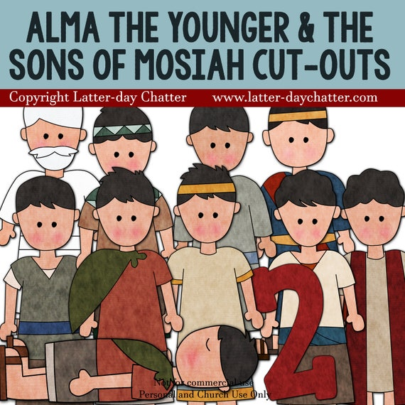 Alma The Younger And Sons Of Mosiah Jumbo Cut Outs