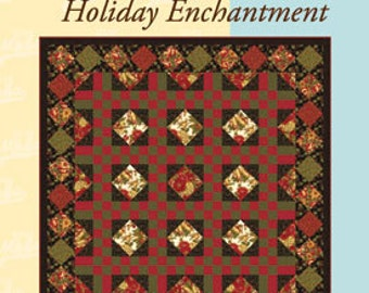 Holiday Enchantment Moda University Quilt Pattern Make It In Time For Christmas Xmas Quilting Pattern  Gift Project