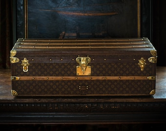 1910 Louis Vuitton Steamer Trunk