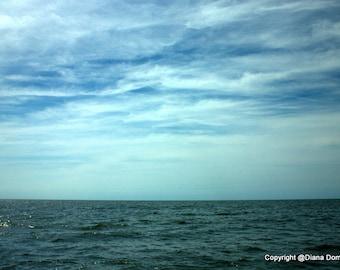 Ocean, Ocean Print, Ocean Wave Print, Sea Print, Seascape, Nautical Decor, Ocean Art, Coastal Wall Art, Ocean Wall Art, Ocean Photography
