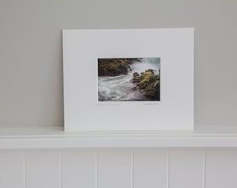 "11""x14"" Matted Fine Art Print, ""Bodega Bay Surf"""