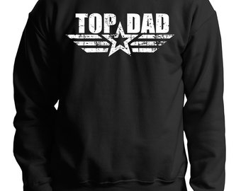 Gift For Father Father TOP Dad Sweater Birthday Gift Daddy Fleece Sweatshirt