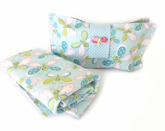 Nappy wallet with wipeclean change pad, travel nappy wallet, diaper clutch,nappy bag ,new mom gift , baby gift, best friend gift,