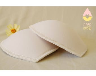 Absorbent nursing pad in your cup size! nourishing breasts, unique nursing pad