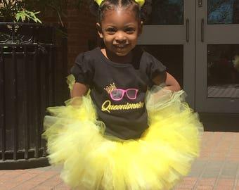 Yellow Tutu, Princess Tutu, Girls Tutu, Birthday Tutu, Tutu Skirt, Baby Girl Tutu,  Girl Tutu Skirt