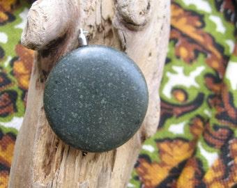 R52 Basalt Rock Pendant
