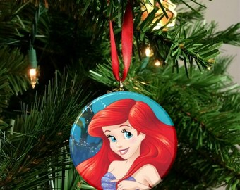 "Disney Little Mermaid Ariel Christmas Tree  2.25"" Ornament"