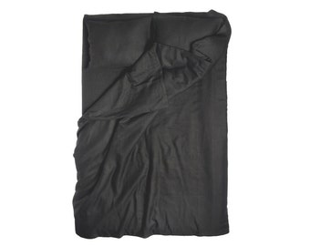 Black duvet cover, Linen duvets, Black linen bedding, Queen, King , Double, Twin size duvet covers, Black bedding