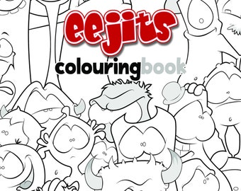 eejits Colouring Book