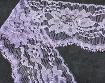 """Lilac Lace 3"""" wide"""