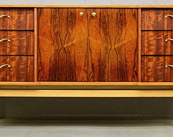 Mid-Century 1960's Rosewood and Tola Sideboard