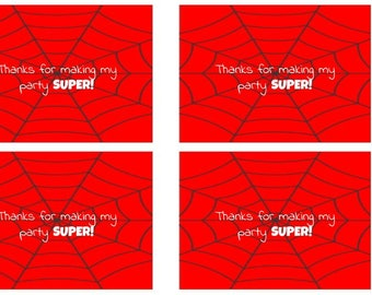 Spider Web Tags