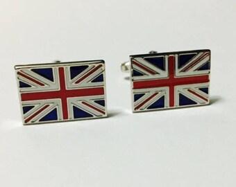 Men's Cuff Links - Union Jack British Flag