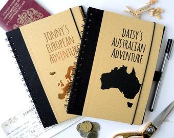 travel planner journal australia