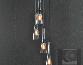The Teardrop Chandelier - All Metal