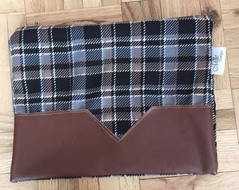"""""""Make-up"""" pouch Plaid"""