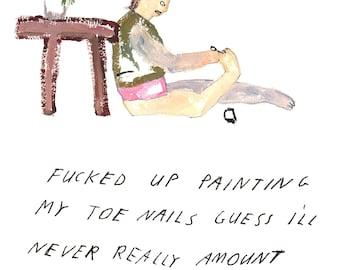 Paint Nails - Print