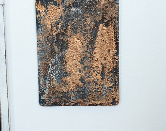 OOAK ACEO Original Miniature Modern Abstract Mixed Media Painting