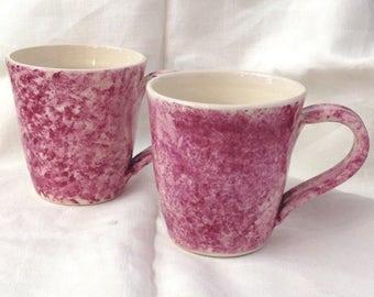 Pink Mug - Ceramic Mug - Pottery Mug
