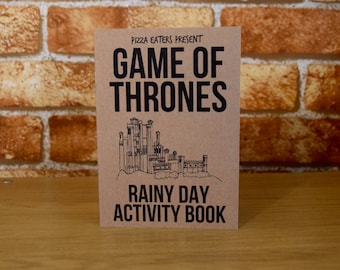 Game Of Thrones Rainy Day Colouring & Activity Book