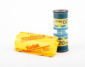 2 Rolls of Kodak EPD 220 Medium Format Film