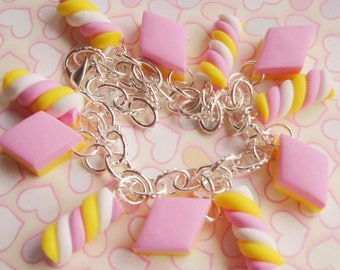 Marshmallow Candy Bracelet