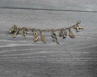 Shakespeare Charm Bracelet