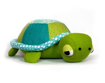 Turtle pattern sewing Tortoise plush PDF