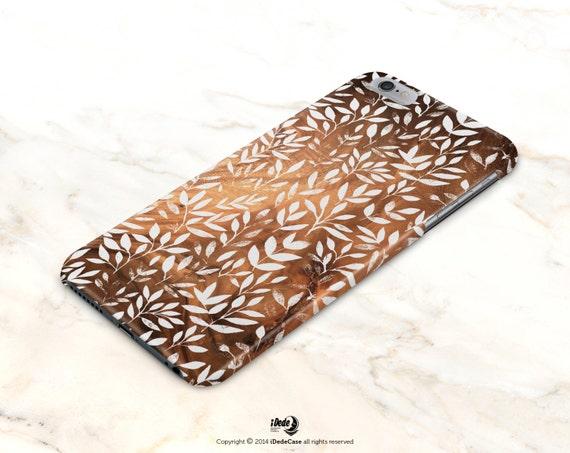 iPhone 7 Case Autumn iPhone 7 Plus case leaves iPhone 6s case iphone 6 case Wood iPhone 6s Plus Case Floral Samsung Galaxy S7 Edge case