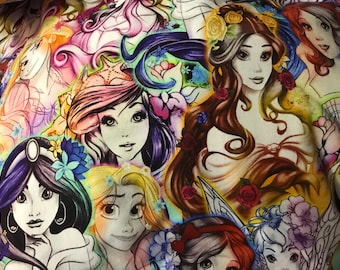 Water color princesses
