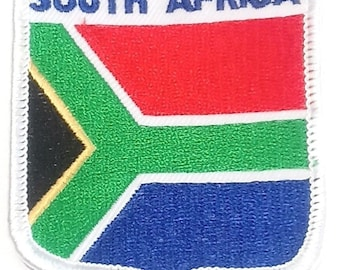 South Africa Embroidered Patch