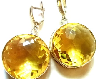 "Citrine Earrings ""SunShines"""