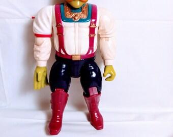 Vintage 1986 Bravestarr Filmation Handlebar Action Figure