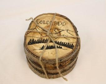 Colorado Aspen Coasters