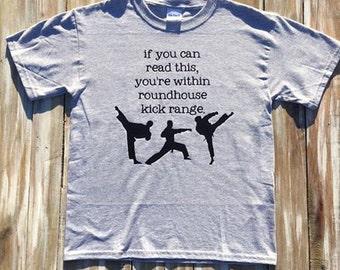 Karate Roundhouse Kick Shirt