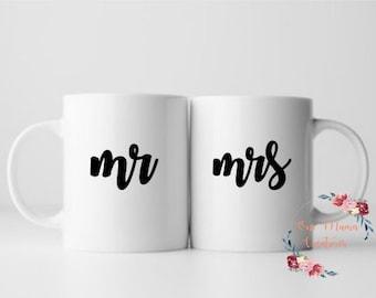 Mr. & Mrs. mugs